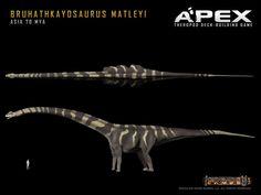 Bruhathkayosaurus matleyi by Herschel-Hoffmeyer