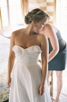 simple, elegant dress by http://www.ivyandaster.com/ Photography by Steve Steinhardt Photography / stevesteinhardt.com