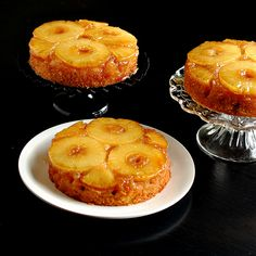 pineapple upside-down cake, I wanna make this for the party, it is sooooo good!!!!!