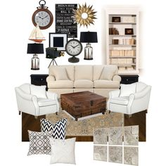 """""""Living Room Remodel Contest"""" by anniepro on Polyvore"""