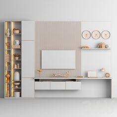 Luxury Bedroom Design, Bedroom Bed Design, Luxury Interior Design, Interior Design Living Room, Tv Wall Design, Tv Unit Design, Tv Wall Furniture, Furniture Design, Wall Tv Stand