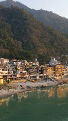 """""""Walking the Himalayas"""", by Levison Wood. Rishikesh Yoga, Rishikesh India, Beautiful Sites, Beautiful Places To Travel, Walking The Himalayas, Levison Wood, Haridwar, Amazing India, History Of India"""