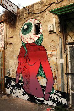 by israeli crew 'Broken Fingaz'. [http://brokenfingaz.com]