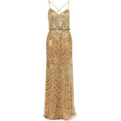 Untold Beaded blouson style dress ($560) ❤ liked on Polyvore