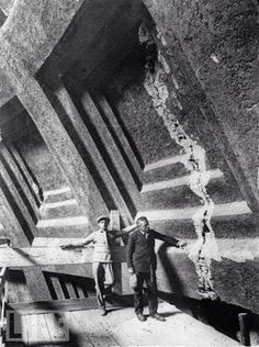 Impresionante griega en el Panteón de Roma en torno a 1925.