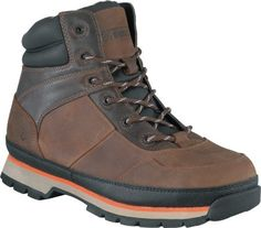Rockport Womens Brown Leather Hiker Work Boots Alpharon Steel Toe ** Details can be found by clicking on the image.