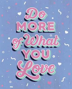 Do more of what you love illustration by Lucinda Ireland, Mollie Makes issue 83.