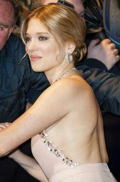 Lea Seydoux attend the '007 Spectre' Paris Premiere at Le Grand Rex on October 29, 2015 in Paris, France.