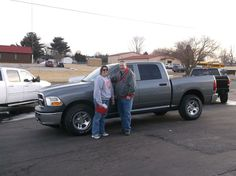 WILLIAM and REBECCA EDDY of Ramsey and their new 2010 DODGE RAM 1500! Congratulations and best wishes from Hosick Motors, Inc. and Sales Pro Brian Major.