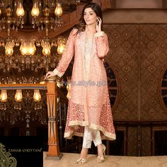 Zainab Chottani Party Wear Dresses 2014 For Women 9