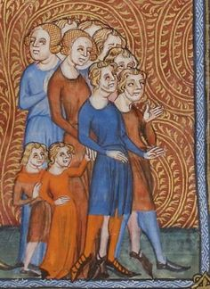 Vincent de Beauvais, Speculum historiale, traduction française par Jean de Vignay. Vol. I (Livres I-VII)  Date d'édition :  1370-1380  NAF 15939  Folio 41r
