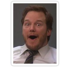 Chris Pratt as Andy Dwyer. Parks And Recreation, Parks N Rec, Andy Dwyer, Excited Face Meme, Dungeons And Dragons, Chris Pratt Funny, Lito Rodriguez, Sarah J Maas, Aphmau
