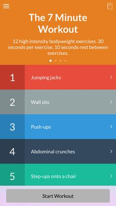 First thing's first: The entire workout takes just seven minutes to complete, and it looks super simple. Initially, I was skeptical I could accomplish this much in such a narrow time frame.