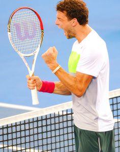 Grigor Dimitrov @JugamosTenis #tennis
