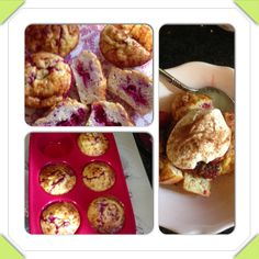I love these overnight oats breakfast muffins make as normal 35g oats mixed with a mullerlite in fridge overnight. In morning add 2 eggs and 1/2 tsp baking powder. Today I added abt 50g raspberries. 1 tsp b powder is 1/2 syn and 100g raspberries cooked 3 syns bake at 190 for abt 30 mins