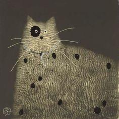 Cats in Art, Illustration, Photography, Decorative Arts, Textiles, Needlework and Design: Govinder Nazran