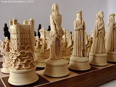 Historical Chess Sets - Theme Chess Sets