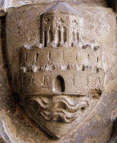 Primer escudo de la ciudad de ValenciaMediados del siglo XIV. Catedral de Valencia / Valencia City first Coat of Arms / cities