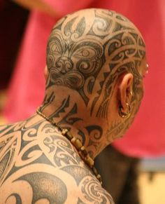 1000 images about bald head tattoos on pinterest head tattoos face tattoos and travis barker. Black Bedroom Furniture Sets. Home Design Ideas