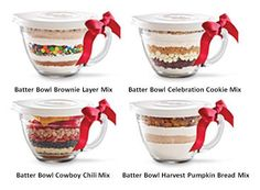 Need a great teacher gift? Heres an idea use Pampered Chef Batter Bowl set fill it with cookie, cake, brownie... or other great Ingredients then tie it off with a bow!
