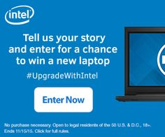 Upgrade Your Laptop (And Enter to Win a New Laptop) #SponsoredPin