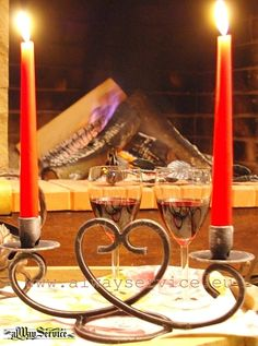 Wrought iron candle holder HEART. Price 16.92Euro. Suitable for two candles. Handmade.Dimensions: 30x14sm. Buy online: www.alwayservice.eu