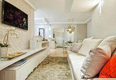 Salas de estar e jantar integradas 19