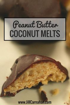 Most candy is a no-go if you're paleo or following a low GI diet. But wether you follow a specific diet or not, you're bound to love these delicious Peanut Butter Coconut Melts and Chocolate Covered Peanut Butter Cups.