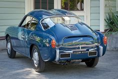 Restored 1958 Fiat Abarth 750 Zagato For Sale