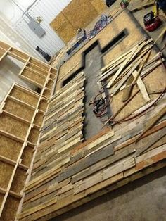 crosses made with pallet wood -- this one is rather large but a neat idea | Church Stage Design Ideas "|236|314|?|en|2|751899f81e284dde4278a6fc9f7f8f2d|False|UNLIKELY|0.29218414425849915