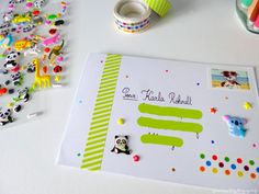 how to write a nice letter ♥ granie Fun Mail, Mail Ideas, Pen Pals, Happy Mail, Snail Mail, Letter Writing, Mail Art, Love Letters, Stationery