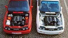The 1987 BMW E30 M3 and 1987 BMW E30 M3 DTM - Engine Bay