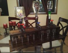 Homemade liquor dispensers by EMBrewCreations on Etsy