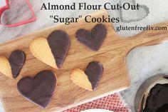 Almond Flour Sugar Cookies - Gluten Free Fix