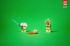 """Lego Star Wars - """"Make your own story"""" (Ghost Escola Cuca Advertising School in Sao Paolo) #1"""