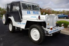 1948 Willys Jeep CJ2A Military Police Thumbnail Image 2