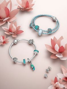 Take a look at the dazzling and exotic new jewelry that will make you shine this season. #PANDORA #PANDORAbracelet #PANDORAearrings #SummerCollection16