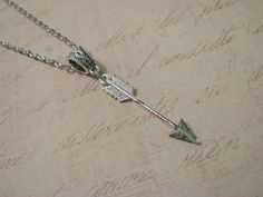 ARROW NECKLACE  Beautiful Stylish Simplistic by ZivaKreations