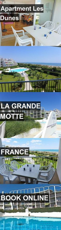 Apartment Les Dunes in La Grande Motte, France. For more information, photos, reviews and best prices please follow the link. #France #LaGrandeMotte #travel #vacation #apartment