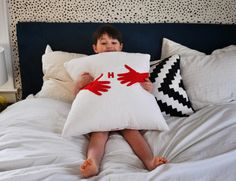 How to Mail A Hug: Kid-Friendly and Grandma Approved Snuggle Pillows