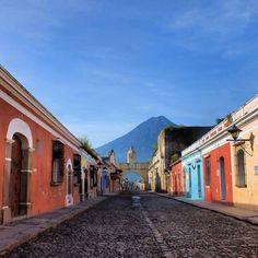 Antigua, Guatemala - GCN participants travel through this beautiful city on their way into and out of Quetzaltenango.
