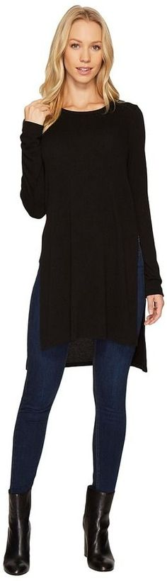 Karen Kane High-Low Sweater Knit Tunic Women's Sweater