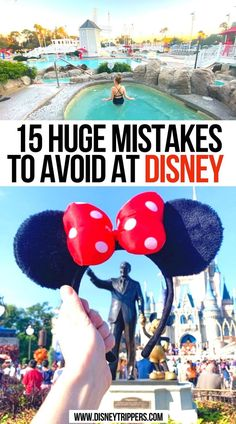 15 Huge Mistakes To Avoid At Disney | Big Mistakes To Avoid At Disney | mistakes to avoid at disney | Mistakes To Avoid When Planning A Trip To Disney World | what to avoid doing at Disney World | what not to do at disney world | best things to do at Disney World | what to do at Disney World | Disney travel tips | Disney vacation planning tips #disney #disneyworld #disneytips
