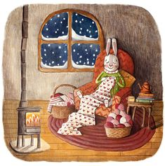 Deborah Hocking Art And Illustration, Illustration Mignonne, Illustration Children, Lapin Art, Art Fantaisiste, Art Mignon, Rabbit Art, Bunny Art, Whimsical Art