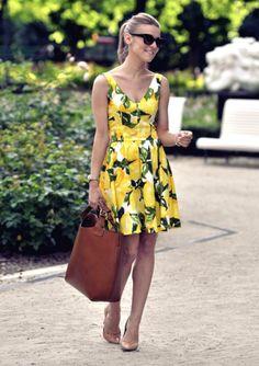 Como usar amarelo na primavera/verão 2016                                                                                                                                                                                 Mais