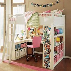 sleep and study loft     SO CUTE  !!!!!