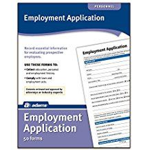 Download And Print Generic Blank And Sample Job Or Employment