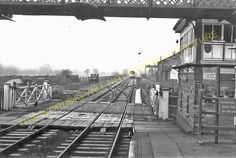 Narborough Railway Station Photo. Blaby - Croft. Leicester to Nuneaton Line. (9) | eBay