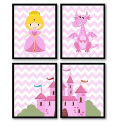 Hey, I found this really awesome Etsy listing at https://www.etsy.com/listing/224882199/fairy-tale-nursery-art-child-baby-set-of