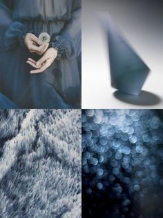 Blurry Blue  Weekend. Mood Board - Eclectic Trends